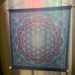 3/$30❗️ Flower of Life Wall Hanging Art